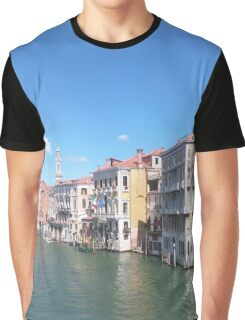 Water Canal Graphic T-Shirt