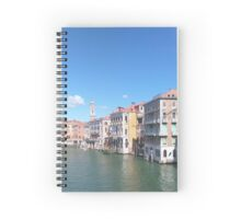 Water Canal Spiral Notebook