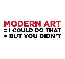 Modern Art by artpolitic
