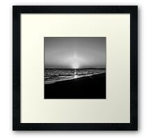 BEACH DAYS VII Framed Print