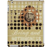 Being and Nothingness (Sartre) iPad Case/Skin