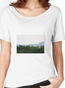 Pylons in the distant mist Women's Relaxed Fit T-Shirt