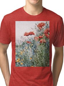 Childe Hassam - Poppies, Appledore  Tri-blend T-Shirt