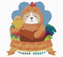 Hello, Little friend! Kids Tee