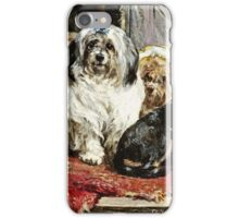 Charles Van Den Eycken - Circus Entertainers  iPhone Case/Skin