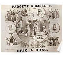 Performing Arts Posters Padgett Bassetts Bric a brac 0615 Poster