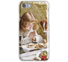 Charles Burton Barber - Suspense  iPhone Case/Skin