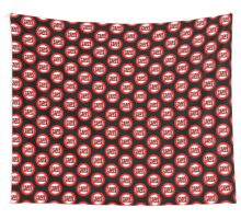 Stop Greed Wall Tapestry
