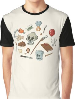 The Curse of Monkey Island Inventory (Special Edition) Graphic T-Shirt