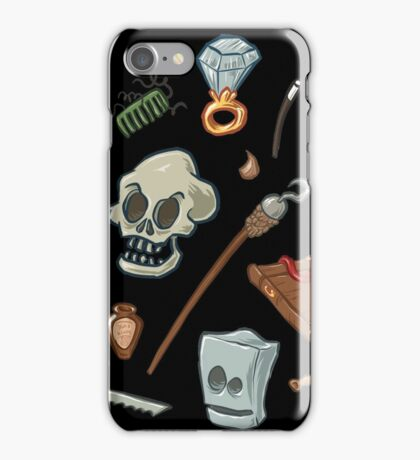 The Curse of Monkey Island Inventory (Special Edition) iPhone Case/Skin