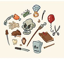 The Curse of Monkey Island Inventory (Special Edition) Photographic Print