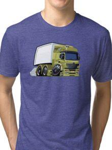 Cartoon cargo truck Tri-blend T-Shirt