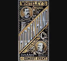 Performing Arts Posters Whiteleys Original Hidden Hand Co the comedy event 0986 Unisex T-Shirt