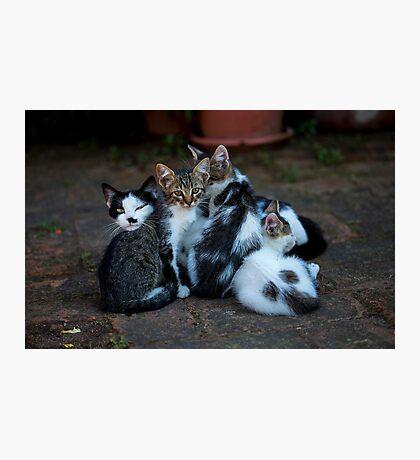 Happy family  Photographic Print