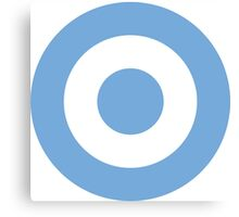 Argentine Air Force Roundel Canvas Print