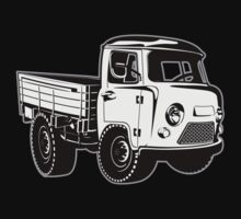 Cartoon delivery cargo pickup One Piece - Short Sleeve
