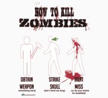 How to kill zombies Kids Clothes