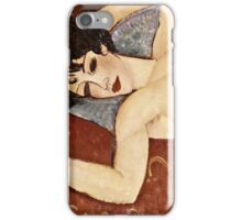 Amedeo Modigliani - Reclining Nude  iPhone Case/Skin