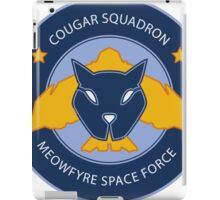 Cougar Squadron iPad Case/Skin