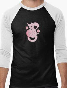 Bubble mew Men's Baseball ¾ T-Shirt