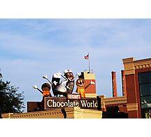 Chocolate World Photographic Print