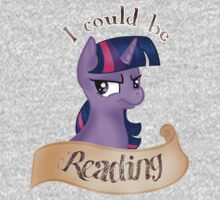 "Twilight Sparkle~ ""I Could Be Reading"" by AwesomeSock"