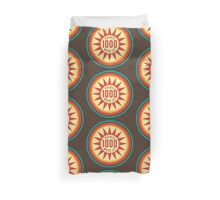 Retro Pinball Points Duvet Cover