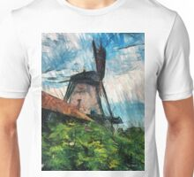 sketching windmill Unisex T-Shirt