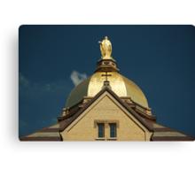 Golden Dome-University of Notre Dame Canvas Print