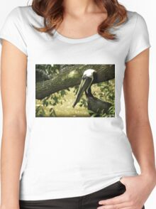 The Bird Women's Fitted Scoop T-Shirt
