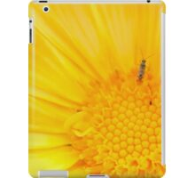 Insect on Calendula iPad Case/Skin