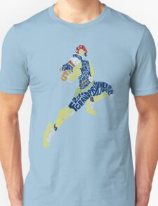Captain Falcon Typography - Justice is Served! T-Shirt