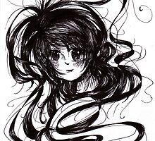 Lost In Dark Hair by gezusgeek