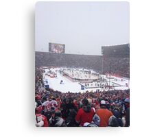 Winter Classic Canvas Print