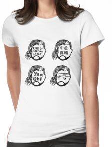 Shinsuke Nakamura KING OF STRONG STYLE Womens Fitted T-Shirt
