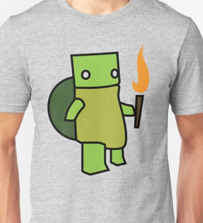 Turtle With A Torch Unisex T-Shirt