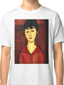 Amedeo Modigliani - Head Of A Young Girl  Classic T-Shirt