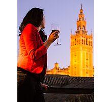 Enjoying Spain Photographic Print