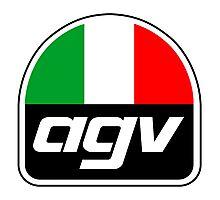 AGV HELMETS Photographic Print