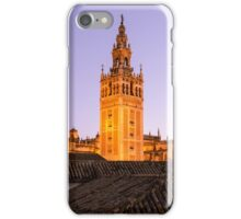 Sunset in the Spanish skies iPhone Case/Skin