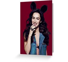 Megan Mouse ;) Greeting Card