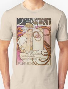 Alphonse Mucha - Salon Des Cent Unisex T-Shirt