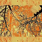 Fragility of Life- Yellow and Orange  by Susan Werby