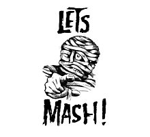 Let's Mash, Mummy! Photographic Print