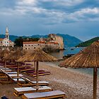 Storm Clouds Over Budva by Rae Tucker