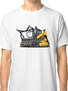 Cartoon Land Clearing Mulcher Classic T-Shirt