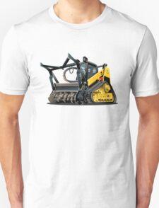 Cartoon Land Clearing Mulcher Unisex T-Shirt