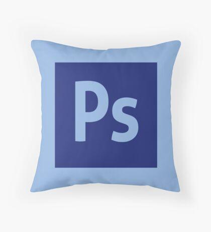 Photoshop (Adobe CS) Throw Pillow Throw Pillow