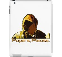 Papers, Please. iPad Case/Skin