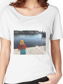 Brickography - Docks Women's Relaxed Fit T-Shirt